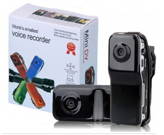 Mini DV MD80 DVR Video Camera 720 P HD DVR thể thao ngoài trời VS SQ8 SQ9