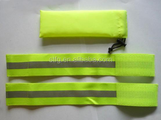 Высокая видимость липучки повязки резинка
