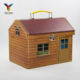 house shaped popular cardboard paper box suitcase wholesale