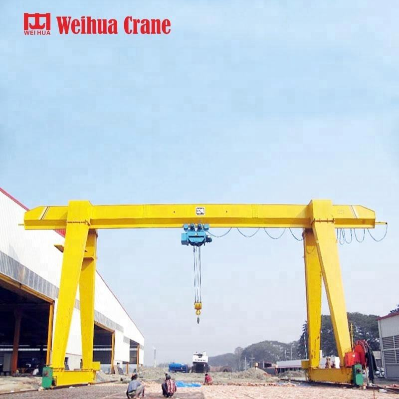 Small Size Single Girder Type Electric Traveling 7t Gantry Crane Price