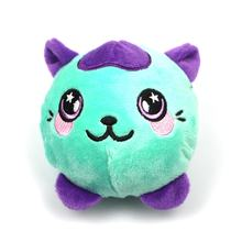Kawaii Free sample  Cartoon Animal  Soft PU foamed  custom made Plush squishy  toys for claw machine