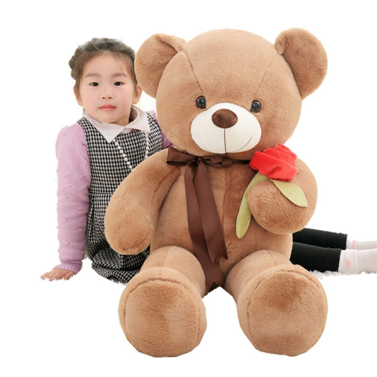 odm makeup big soft teddy bear giant fur mindstorms large teddy bears custom pp cotton lovely odm plush toy for creative gift