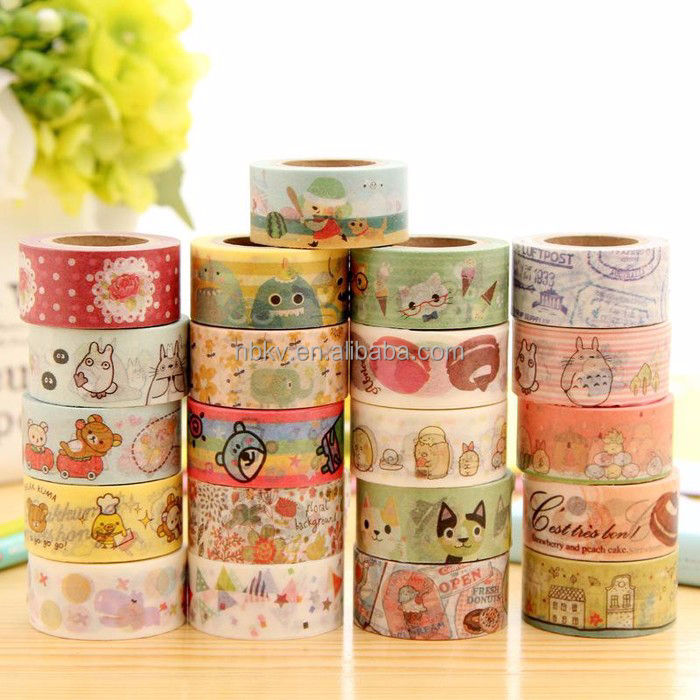 15mm*10m Washi Paper Sticky Adhesive Sticker Decorative Tape