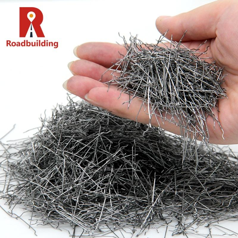 Concrete Fiber Chopped Strands Advantages Stainless Reinforced Concrete Calculation End Hook Type Steel Fiber