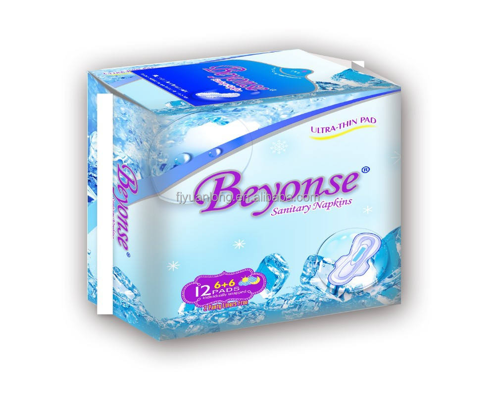 day and night use cotton comfortable SANITARY PADS MANUFACTURER sanitary napkins Lady napkins