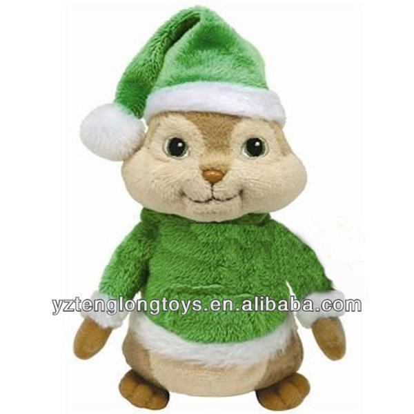 Promozionale <span class=keywords><strong>Alvin</strong></span> And Chipmunks <span class=keywords><strong>Peluche</strong></span> Chipmunk Giocattolo