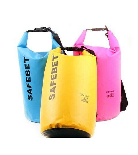 Outdoor sports swimming diving floating PVC waterproof dry bag with Shoulder Straps