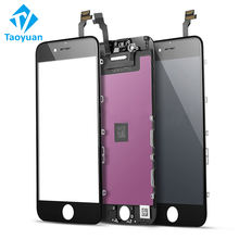 Mobile phone lcd display for iphone screen replacement, factory price cell phone screens for iphone 5 6 display lcd screen
