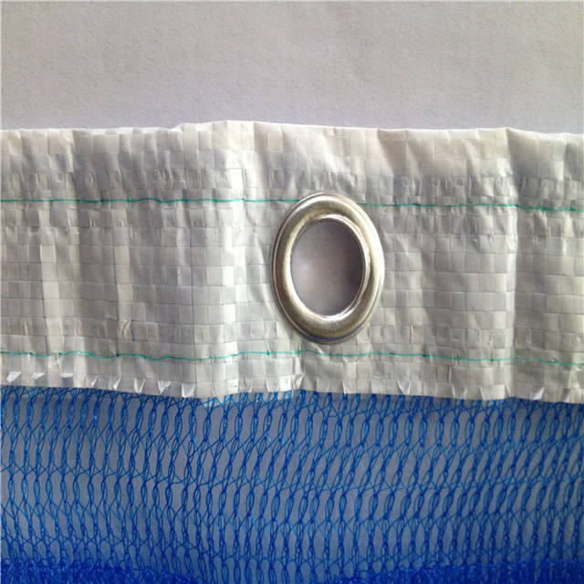 High quality To Malaysia Market 930gsm blue color safety netting