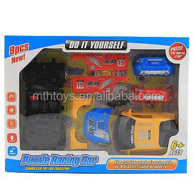 New 2014 Do it your self !Educational kids toy diy assembly car toys