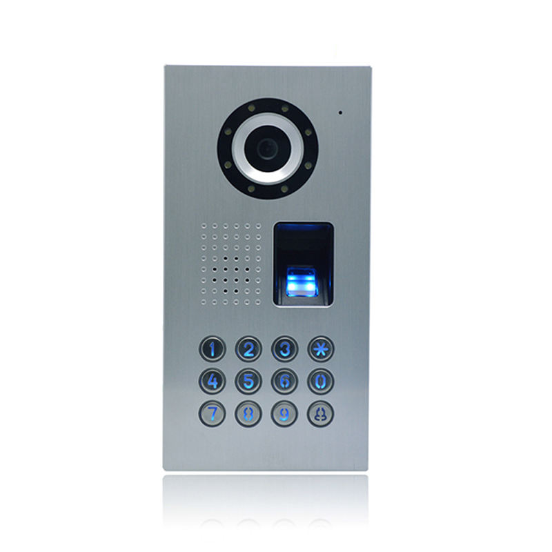 Smart Mobile Device WIFI Video Door Phone Intercom System Support photo taken fingerprint function PY-WCF1