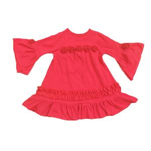 Hot sale baby girl frocks fancy dress fashion boutique clothing dress designs for girl