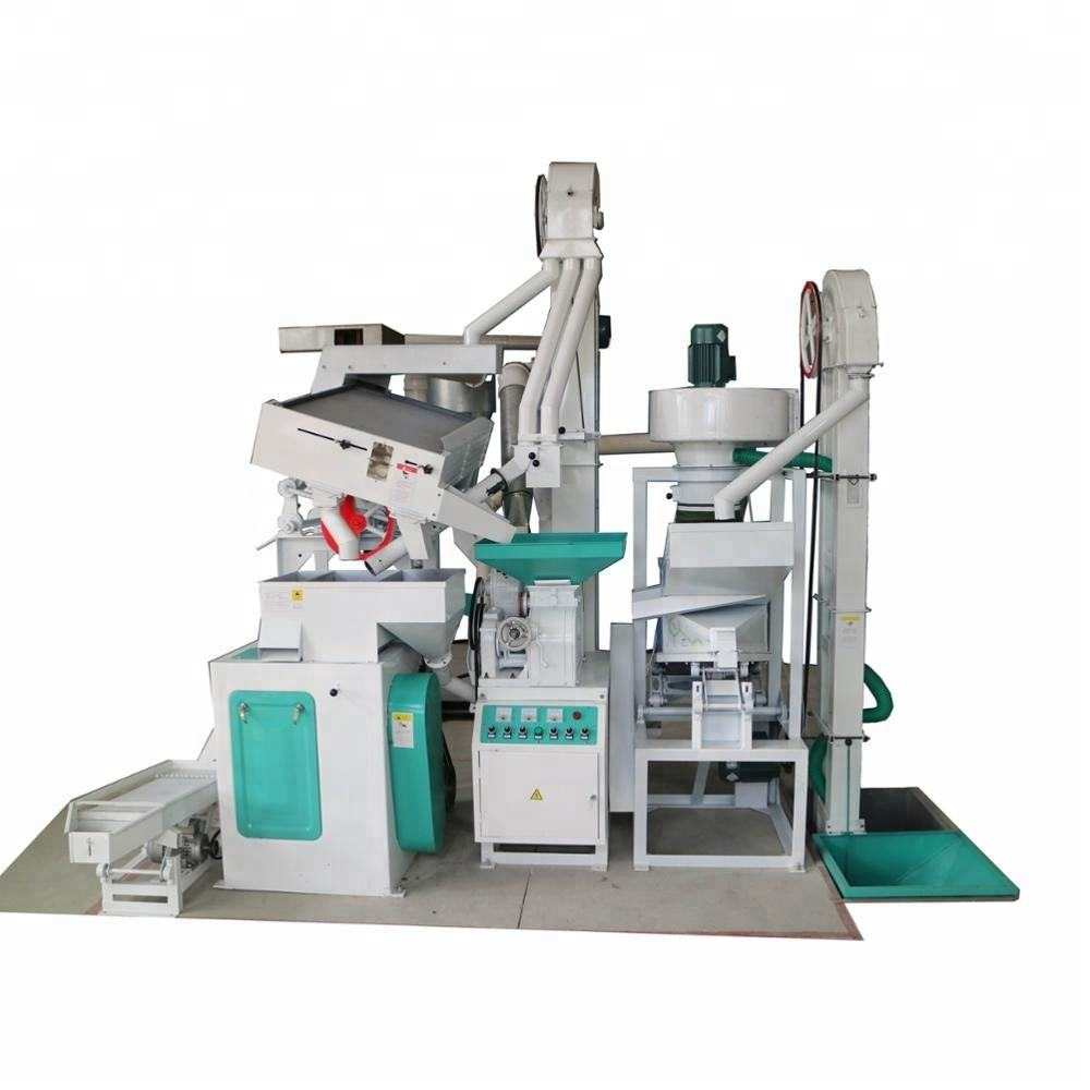 CTNM15B price of new design mini complete set rice milling production line