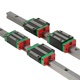 HGR15 HGR20 HGR25 HGR30 HGR35 HGR45 HIWIN linear guide rail and block slider carriage