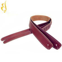 Leather factory professional custom musical band bass guitar straps