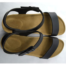 girls high heel black white sandals