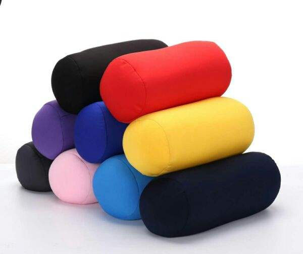 Wholesale Tube Shape Pillow Feather Soft Microfiber Pillow Travel Micro Bead Polystyrene Foam Pillow