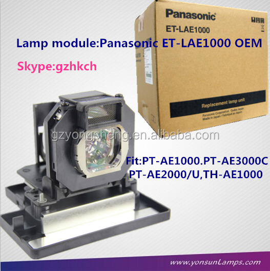 <span class=keywords><strong>Lampu</strong></span> proyektor asli ET-LAE1000 untuk <span class=keywords><strong>panasonic</strong></span> PT-AE1000/e/u, PT-AE3000C