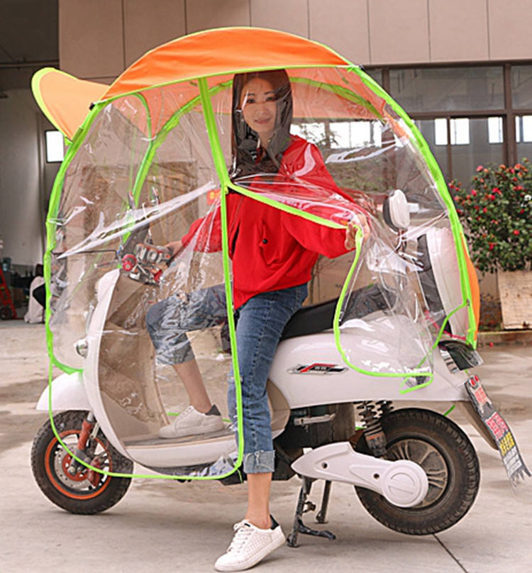 Hot Sale Motorcycle and Bicycle Sunshade Outdoor umbrellas