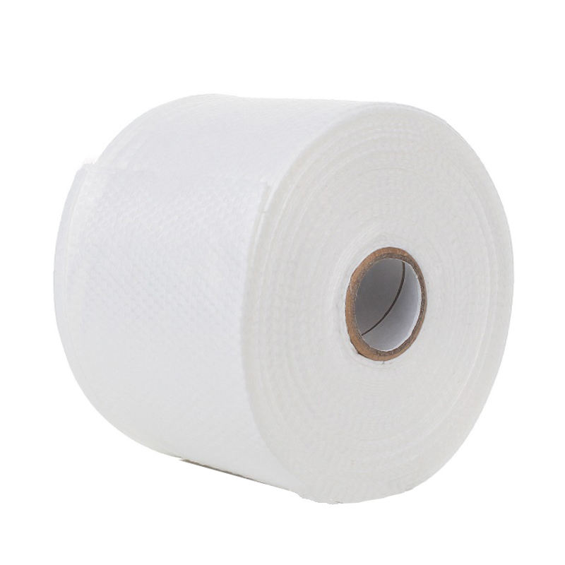 Dots Embossed Spunlace Non Woven Fabric Rolls