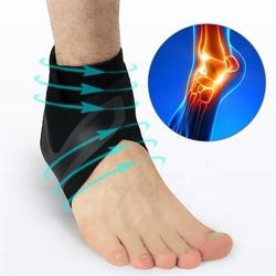 Elastic Nylon Ankle Protectors Anti Sprain Outdoor Basketbal
