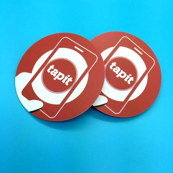Custom URL Programmable Anti Metal NFC NTAG216 RFID Label Tag