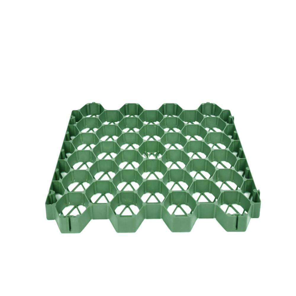 High quality HDPE plastic grass lawn grid gravel stabilizer