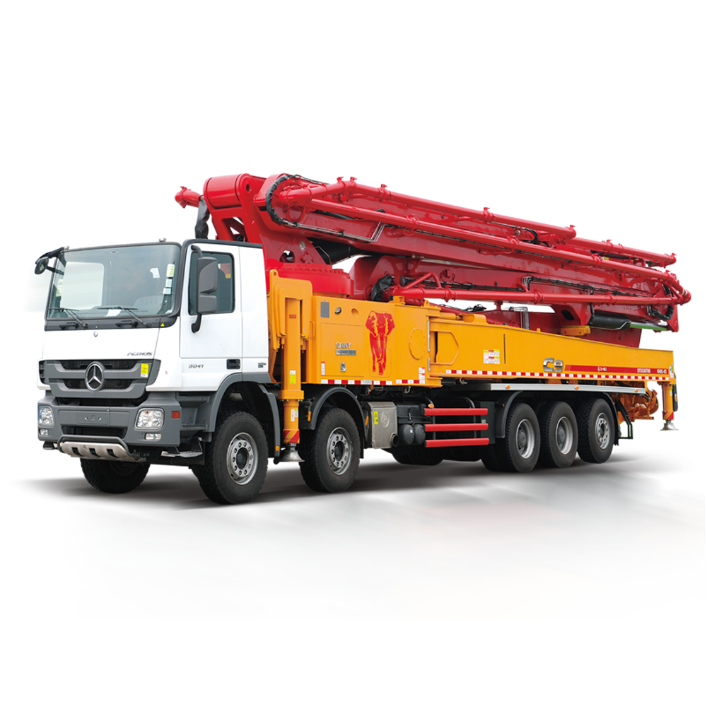 China top brand SANY 56m Truck-mounted concrete pump for sale