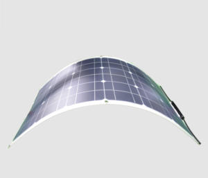 RG 18V flexible 50W para mascotas mono panel solar flexible con MC4 conector
