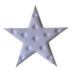 five pointed star marquee battery led night light for sale