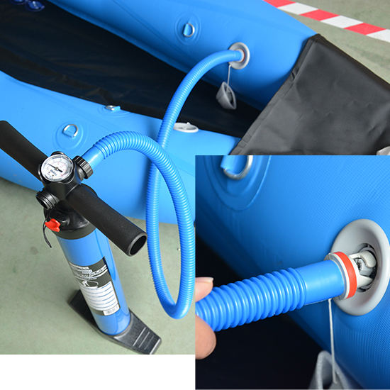 Hot sales inflatable sup double action hand pump air pump