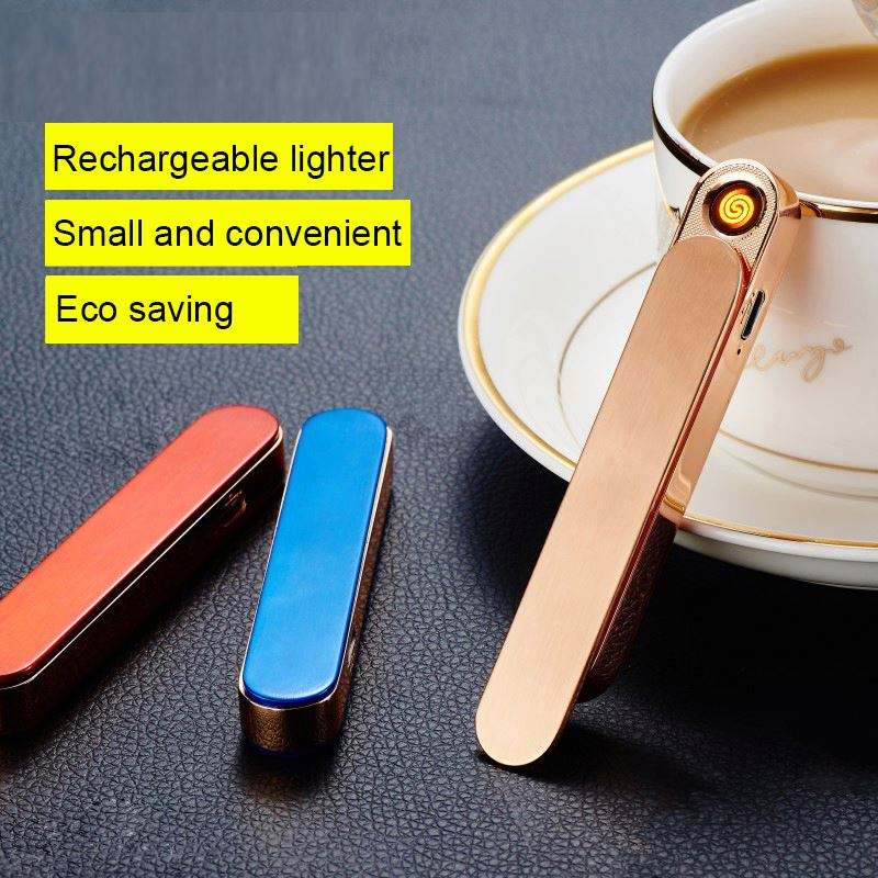 YanzhenJL701 factory direct metal lighter and longer windproof USB lighter