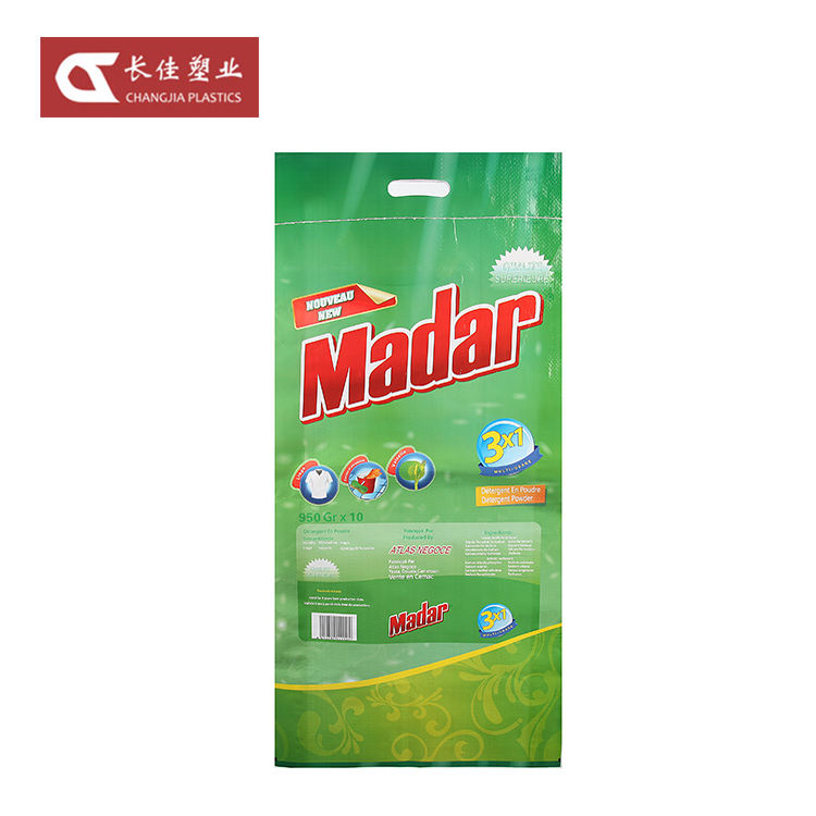 China Low Price Products Washing Powder PP Woven Plastic Bags For Detergent
