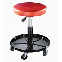 Rolling Wheels Creeper Chair Adjustable Motorcycle Car Mechanic work Seat Stool Chair Repair Tools Tray Shop Auto Garage