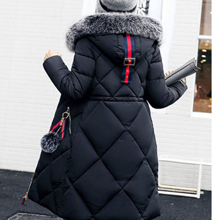 Thickened parka women Long winter coat ladies down parka down jacket parka homme women