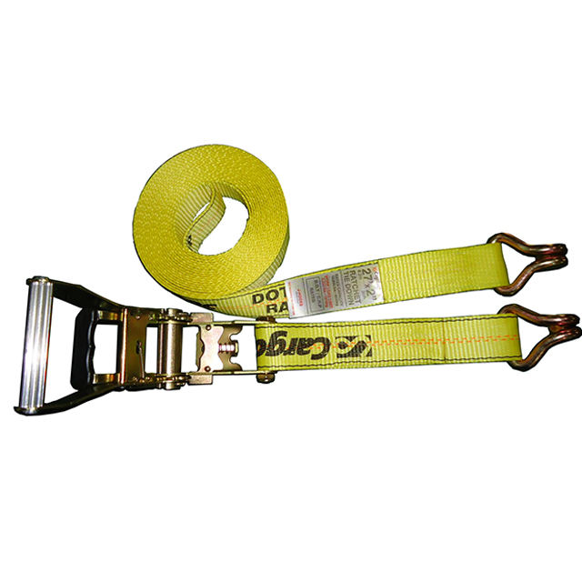 GYATSO 50mm 5000kg Yellow Ratchet Tie Down Ratchet Straps Lashing For Cargo Transport