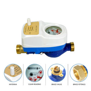Pulse output bluetooth wireless water meter