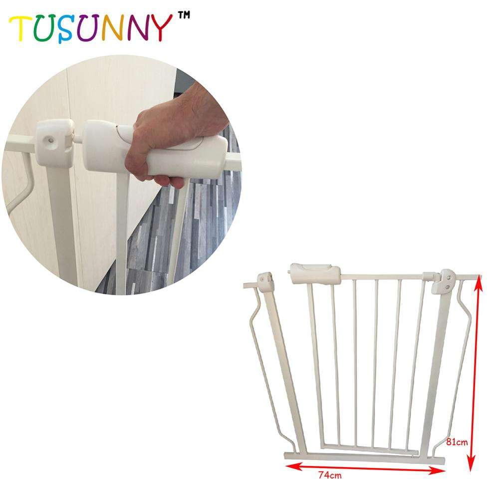 high quality steel tube child safety gate, safety gate baby ,baby gates safety gate