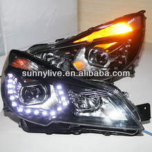 2010-2013 Year for Subaru Outback LED Head Lights Projector Lens PW