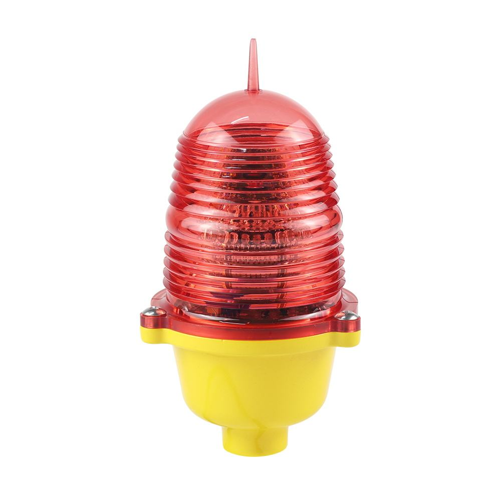 LED single low intensity aviation tower obstruction light