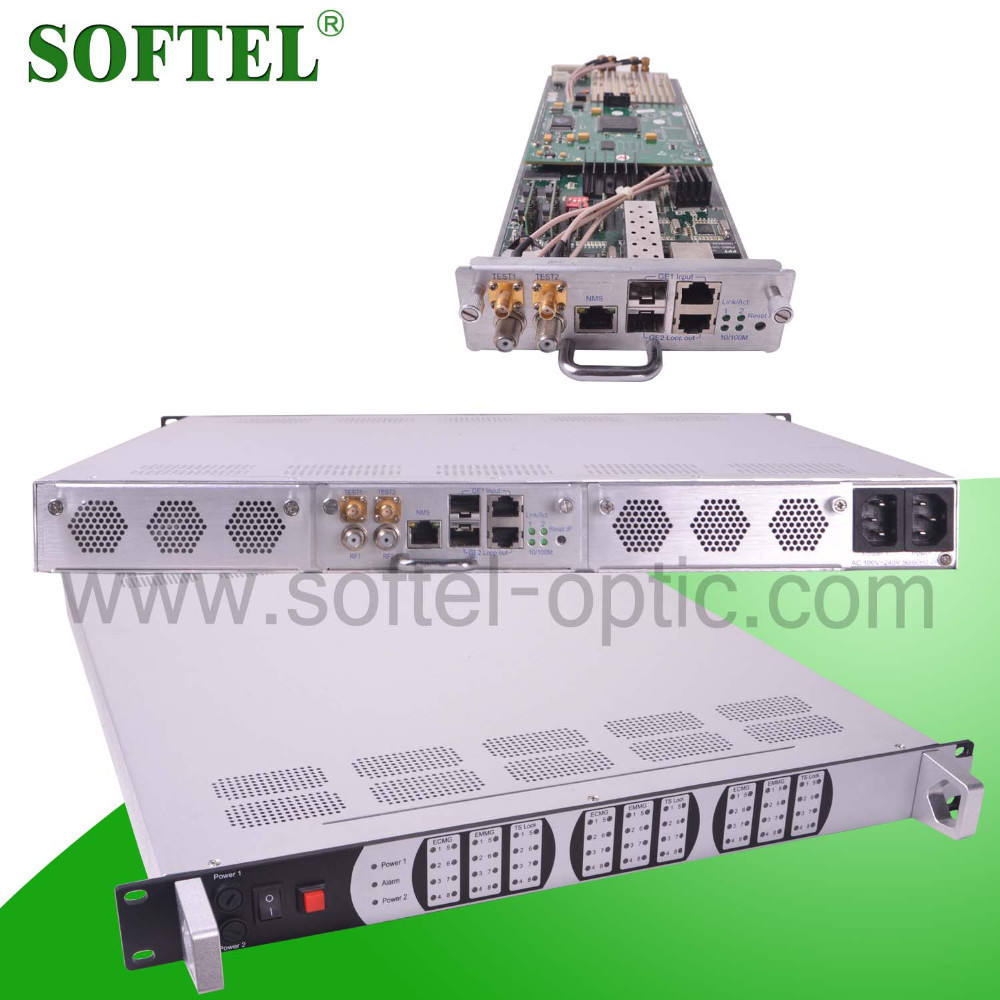 [SOFTEL] CATV headend 256 IP Mux-Klauteren QAM modulator, IP QAM modulator