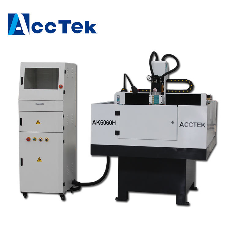 Acctek shoe mould making cnc machine for mold making mini milling metal cnc machine AK6060H