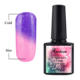 Distribute temperature color change fabric glitter color change gel nail polish nail gel