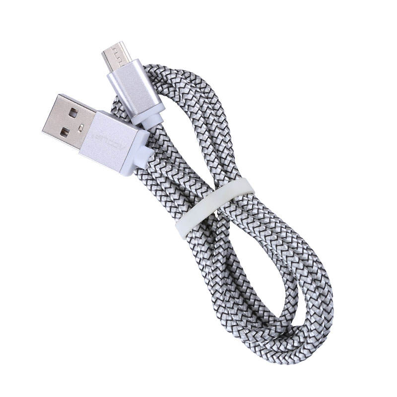 wholesale high quality super flexible colored charging data mini type C micro usb cable