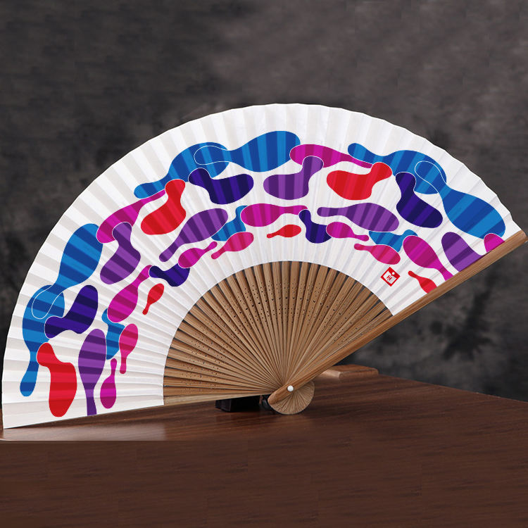 chinese gepersonaliseerde hand in te vouwen ventilator