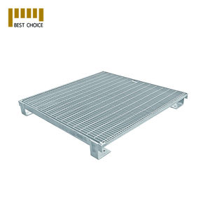 stainless steel slim line v profile grating for Flooring panel platform