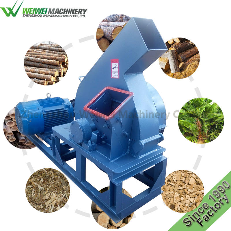 MPJ800 Weiwei forestry wood chipper shredder mulcher machine