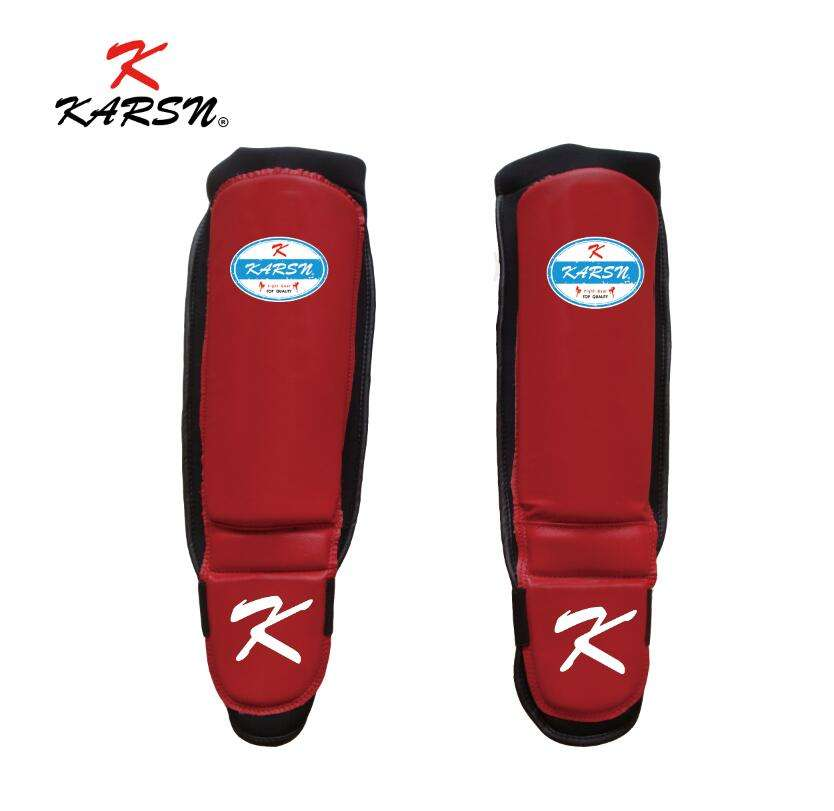 Muay Thai Synthetic Leather kick boxing Shin Guards Martial arts Shin Guards