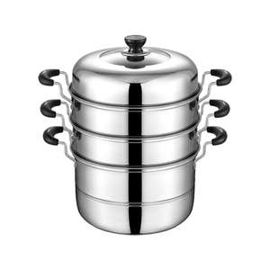 Hotel/home cooking utensils set stainless steel food steamer for dumpling