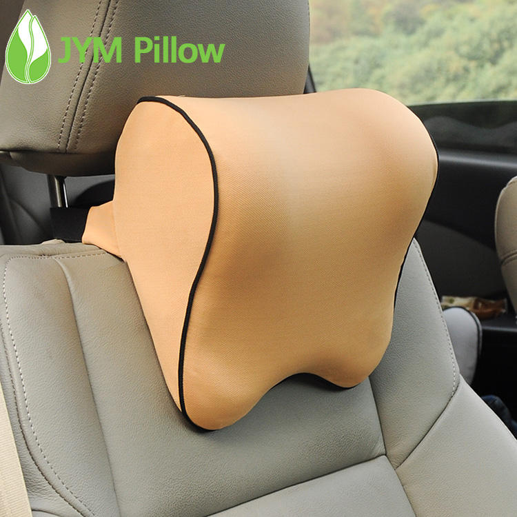 Car Headrest Neck Support Pillow Adjustable Strap Memory Foam Car Seat Pillow